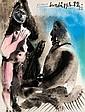 Picasso, Ausst.-Plakat v. 1972