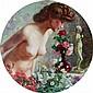 Werner, Akt mit Rosen, Öl