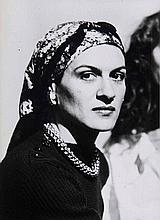 Paloma PicassoSammlung von 4 Portraitaufnahmen von Paloma Picasso der Photoagentur