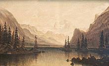 Langer, JuliusSeelandschaft. Um 1870. Öl auf