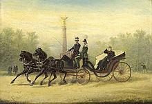 Kaiser, FriedrichKutschfahrt mit Kaiser Wilhelm I.