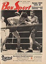 Box Sport. Jg. 1937. Mit zahlreichen Illustrationen. Gebunden. Zusammen ca. 700 S. 4°. HLwd. (berieben, bestoßen und beschabt).