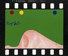 Tilson, Joe  Nose. 1968. Farbserigraphie auf Velin. 50,5 x 43 cm. Signiert u. nummeriert. - Verso mit Spuren von alter Montur. - Exemplar 16/150.