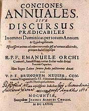 Neusser, Bruno Conciones Annuales, Sive Discursus