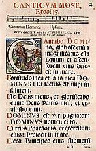 Maior (Meier), Georg (Hrsg.) Psalmi seu cantica ex