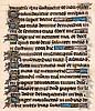 Stundenbuchblatt auf Pergament. Mit 17
