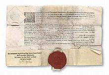 Ernennungsurkunde von Wilhelm von