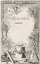 Saint-Lambert, Jean-François de  Les Saisons, poeme. Mit Kupfertitel. Nouvelle ed.