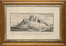 Buck, Samuel  The south-west view of Caerkenin-Castle, in the county of Caermarthen. Kupferstich