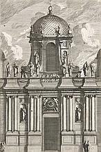 Lepautre, Jean  Sammlung von Architektur- und Ornamentstichen von Jean Lepautre.