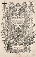 Thurneisser zum Thurn, Leonhart Historia, sive descriptio plantarum omnium, tam domesticarum quam exoticarum: Earundem virtutes influentiales, elementares & naturales, subtilitates, necnon icones. Mit breiter Holzschnitt-Titelbordüre, 1 fast ganzs.