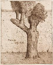 Hommage à Gustav Stein. 14 Arbeiten (von 34). Volker Neuhaus, Köln, 1983. Blattmaße je ca. 52,5 x 42,8 cm. Je signiert, teils datiert u. betitelt. Lose in original Flügel-Mappe (diese etw. berieben u. ngeschmutzt).