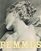 Stone, Sasha (eigtl. Alexander Serge Steinsapir) Femmes (Collection d'Études Photographiques du Corps Humain). Mit 20 Photogravüren, lose. Paris, Edition Arts et Metiers Graphiques 1933. 4°. Illustr. OMappe mit mont. OPhotographie (Deckel leicht