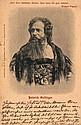 Gottinger, Heinrich Eigenhändiger Karte mit Lichtdruck-Porträt 8 Zeilen Mitteilung und Unterschrift. Postempel 21. Januar 1920.