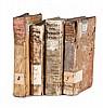 Sammlung von 4 alten Drucken. Teils Prgt. u. teils Brosch. d. Zt. (Stellenweise berieben u. bestoßen, mit leichten Gebrauchsspuren