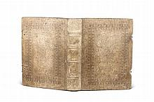 Rituale Salisburgense ad usum Romanum accomodatum authoritate, et jussu ... Leopoldi Antonii Eleutherii, Archi-Episcopi ... ex antiquissimis L.B. de Firmian. Salzb., Mayr, 1740. 3 Bll., 407 S. 4°. Holzdeckel mit blindgepräg. Schweinsldr. u. 2
