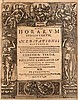 Camerarius, Philipp Operae horarum subcisivarum sive meditationes historicae. 1. u. 3. Teil (von 3 Tlen.) in 2 Bdn. Titel mit Holschnitt-Bordüre. Frankfurt, Saur u. Kopff, 1602 u. 1609. 474 S., 29 Bll., 18 Bll., 379 S., 15 Bll. 4°. PGt. d. Zt. mit