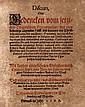 Fridensberg, Johann Cornelius v. Discurs oder