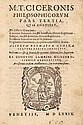Cicero, Marcus Tullius Philosophicorum pars tertia