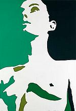 Berges, Werner Maureen. 2002. Farbserigraphie auf festem Papier. 62,5 x 42 cm (70 x 50 cm). Signiert und nummeriert.