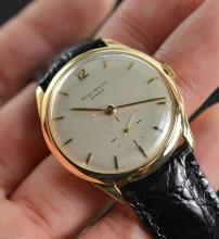 Patek Phillipe Solid 18K Gold 32 MM Watch