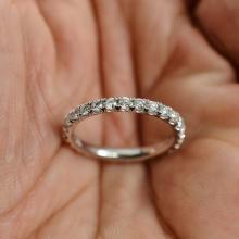 0.94 Carat t.w. Diamond Eternity Ring 14K Gold