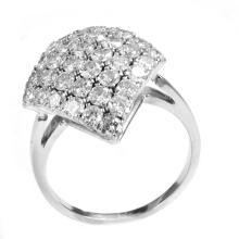 1.31 Carats t.w. Diamond Anniverary  Ring 18KWG