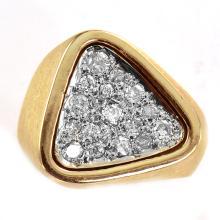 0.56 Carat t.w. Diamond Fashion Ring 14K 2-Tone
