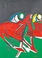 GUY EDWARD GREY-SMITH, 1916-1981 HORSE AND JOCKEY,, Guy Grey-Smith, Click for value
