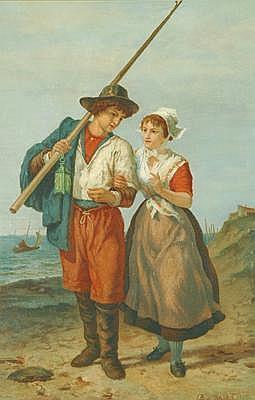 EUGENE FRANCOIS DE BLOCK (Belgian School, 1812 -