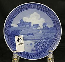 Royal Copenhagen Year Plate San Francisco 1915