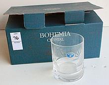 Bohemia Crystal Set of 6 Highball Glasses