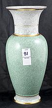 Royal Copenhagen Crackle Vase #457 3055