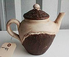 North Carolina Pottery Teapot