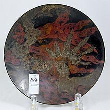 Ikora WMF 1927 Hugo Debach Enamel Plate