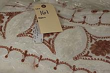 Vintage Set Damascus Handmade Table Linens - 60