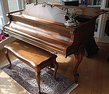 French Style Hardman Baby Grand Piano