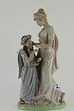 Wedgwood figurine of Mother and Daughter