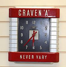 Smith Sectric Craven 'A' Clock 1930s