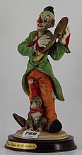Leonardo figurine of a circus clown with