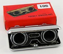 Pocket binoculars 2.5 x 25m/m Boxed