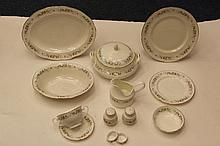 Mayfair fine bone china dinner service 4