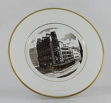 Wedgewood Bone China dinner plate - comm