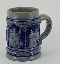 Quarter litre Tankard german stoneware