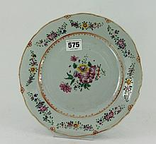 A 19th Century chinese porcelain familia
