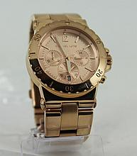 Michael Kors Rose gold stainless steel w