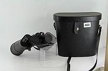 A pair of Prinz Binoculars in case