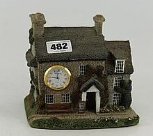 Model cottage 'Ye Old Bell Inn' with clo