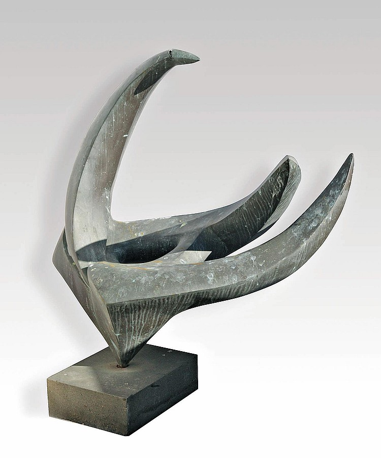 Marta COLVIN (1907-1995)Sculpture abstraite,