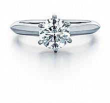 Platinum and approx. 1.71ct. Diamond Solitaire Lady's Ring
